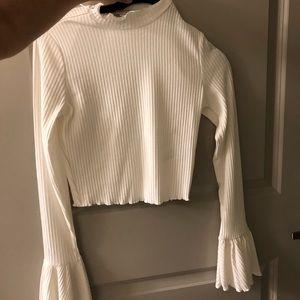Tops - White long sleeve